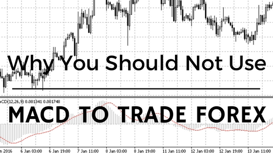 Why You Should Not Use The MACD To Trade Forex